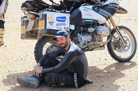 Vaškovým nejsilnějším zážitkem v sedle motorky byla jízda do Maroka.