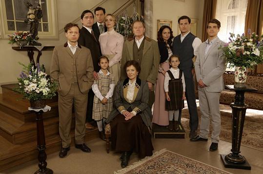 Rodina Valentových v seriálu První republika
