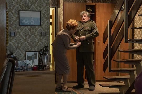 V komediálním cyklu Hlavně to zdraví si zahraje starostlivou manželku Miroslava Hanuše.