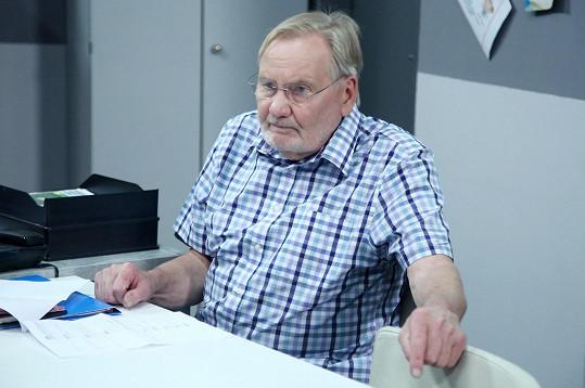 Hrál bývalého primáře urgentního příjmu Jiřího Bojana.