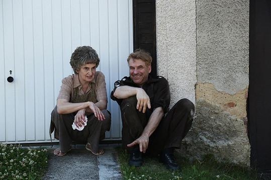 Eva Holubová s Tomášem Vorlem nyní