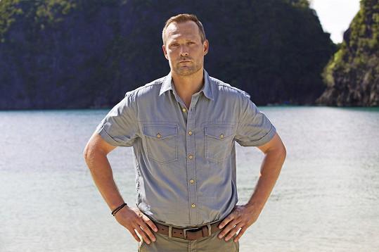 Ondřej Novotný moderuje Robinsonův ostrov.