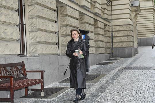 Herečka Andrea Černá