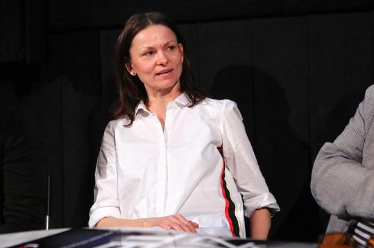 Herečka na tiskové konferenci vzpomínala na natáčení.