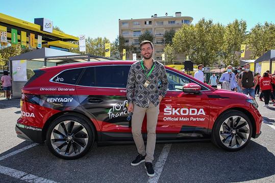 Marek vyrazil tento týden na cyklistický závod Tour de France, kam ho pozval jeden z hlavních sponzorů.