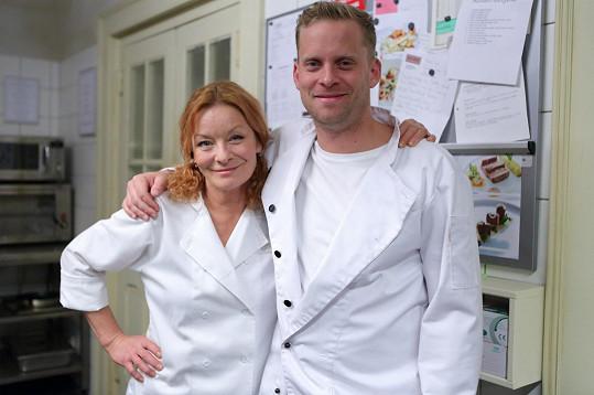 Vilma Cibulková a Jakub Prachař