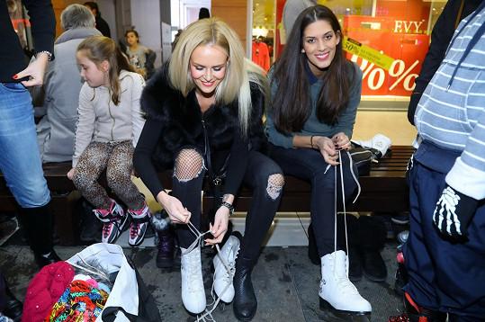 Brusle obula poprvé po třech letech.