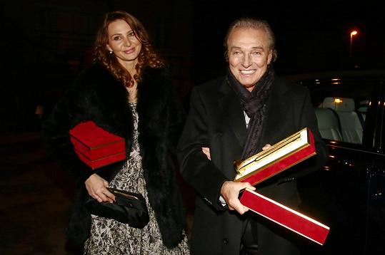 Ivana Gottová dostala od manžela krásný dárek.