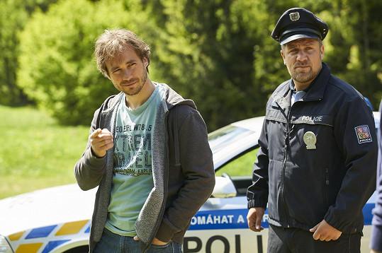 Michal je o pár měsíců starší, Filip byl od samého začátku natáčení nejmladší herec.