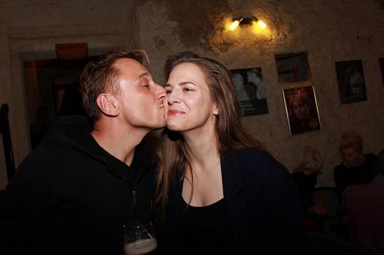 Petr Stach zase s Petrou Nesvačilovou...