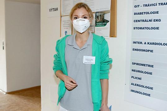 Nikola nastoupila na pozici pozici aktivačního pracovníka.