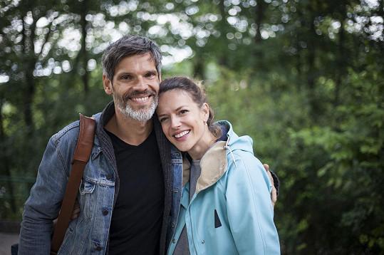 Andrea s manželem Mikolášem Růžičkou.