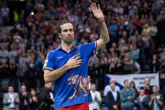 Radek Štěpánek pozval na rozlučkový zápas plno významných hostů.