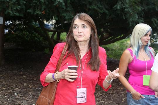 Miluška Voborníková v roce 2014