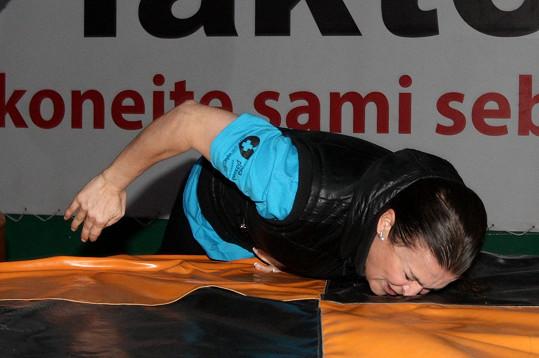 Mahulena Bočanová si vyzkoušela adrenalinové disciplíny.