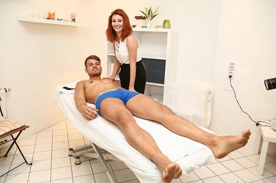 Tomáš si spolupráci s kosmetičkou užil.