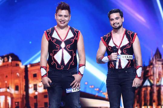 Duo Torres se představilo v Talentu.