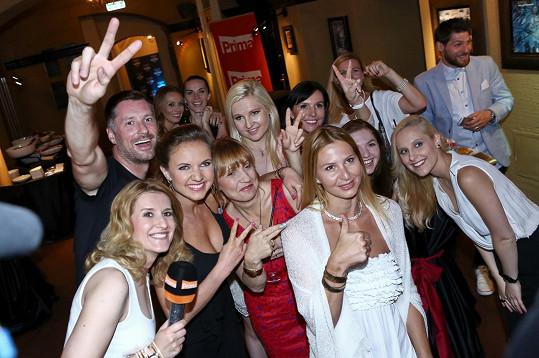 VIP zprávy slavily pět let a při té příležitosti se kolegové rozloučili s Gottovou.