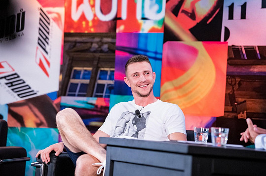 Jakub Štáfek v pořadu 7 pádů Honzy Dědka, který Prima vysílá v úterý večer.