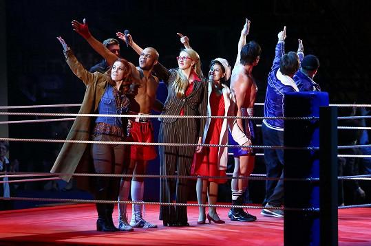 Zorka Hejdová při představení