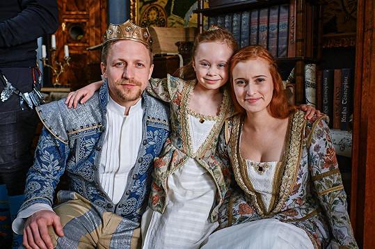 V pohádce Tajemství staré bambitky 2 si zahrála prostořekou princezničku. V budoucnu by si troufla i na královnu.