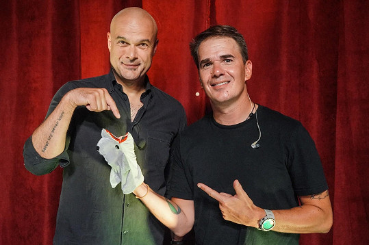Slávik a Dominik Turza aka DJ Roxtar