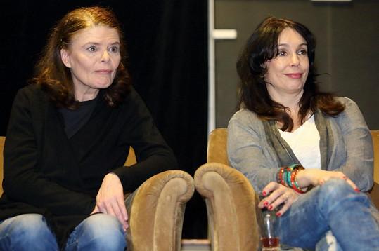 Zuzana Bydžovská s Nelou Boudovou