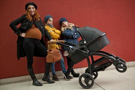 Míša je trojnásobnou maminkou, doma už má dvojčata Josefa a Magdalénu.