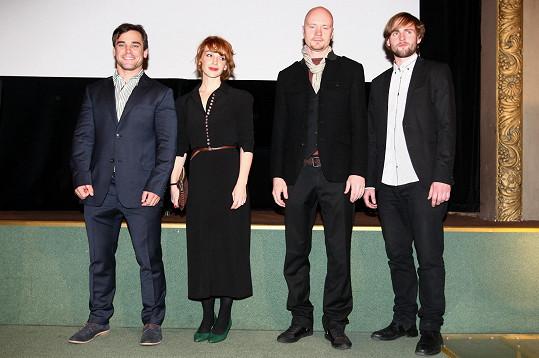 Herecká delegace k filmu Tenkrát v ráji