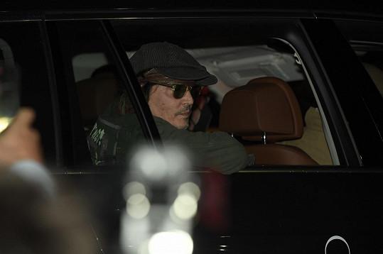 Johnny Depp dorazil na karlovarský filmový festival.