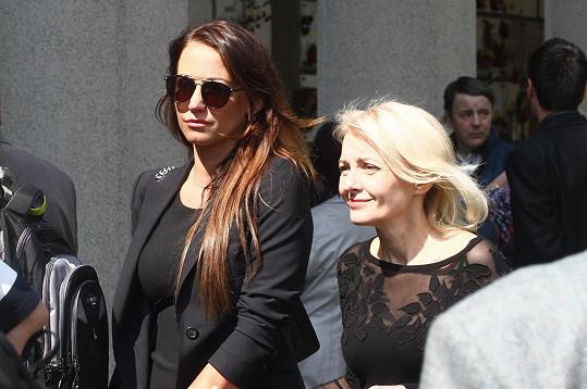 Agáta Prachařová a Veronika Žilková