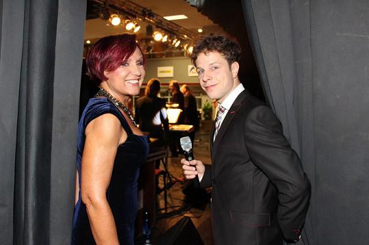 S dvojnásobným vítězem StarDance Janem Onderem, který ples moderoval.