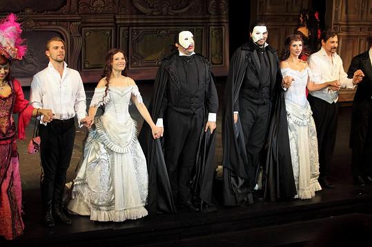 Na jevišti se sešli dva Fantomové opery.