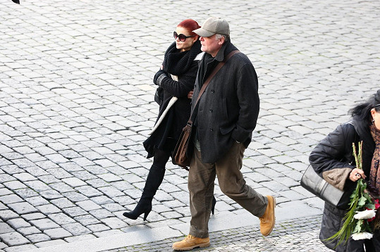 Igor Bareš s manželkou