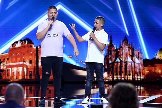 Bratři z Romstar Vyškov to v Talentu rozjeli.