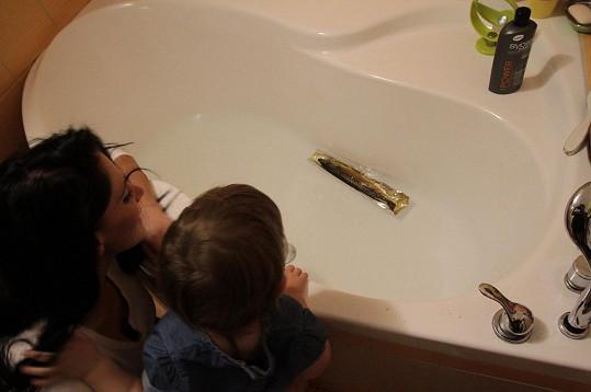 Andrea Pomeje překvapila nejvtipnější fotkou s dcerou Aničkou.