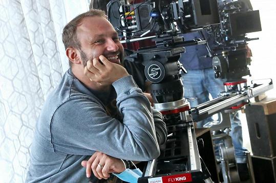 Marek Dědík se dobře bavil. Tentokrát byl za kamerou.