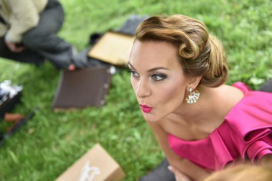 Bára Mottlová si pořídila nové akční fotky.