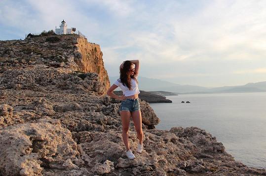 Alžbeta si užívala Řecko plnými doušky.
