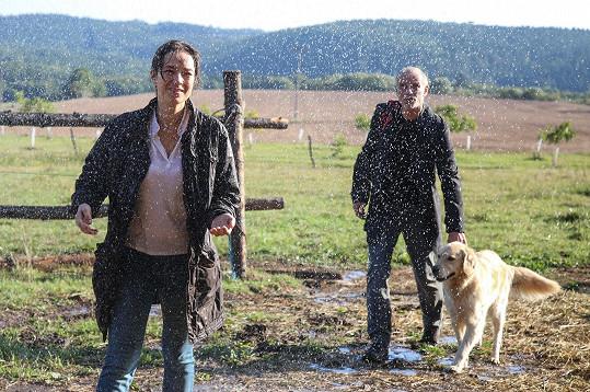 Lukáš Vaculík vytvoří v seriálu dvojici s Terezou Kostkovou.