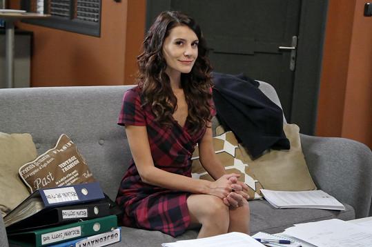 V seriálu Krejzovi ztvární vypočítavou stážistku.