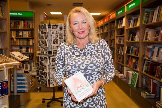 Jirešová křtila knihu Ivy Moravcové.