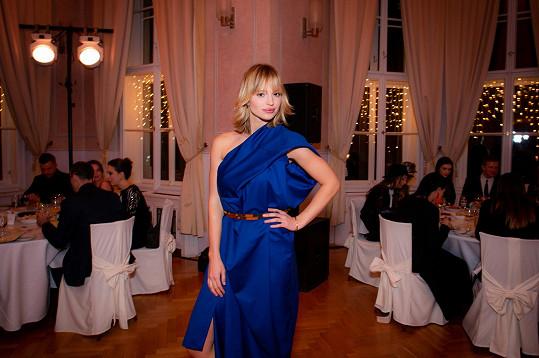 Hlavní hvězdou finále byla modelka Tereza Kačerová.