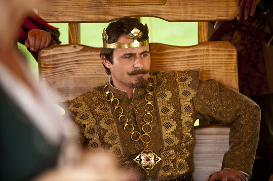 Mirek Šimůnek jako král