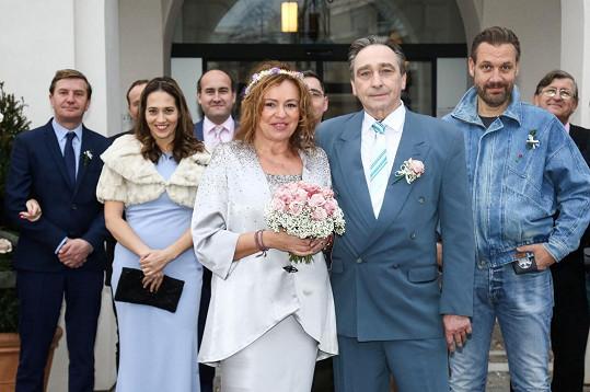 Takhle jí to slušelo se seriálovým manželem Ondřejem Pavelkou (65).