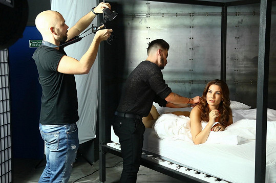 Moderátorka fotila pro Playboy nahá.