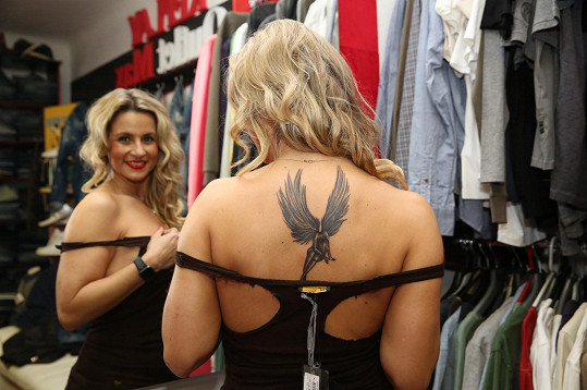 Moničino nové tetování