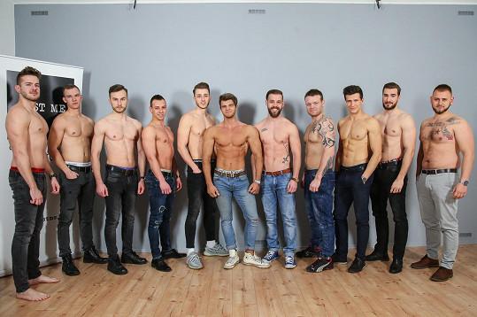 Tihle mladíci by se rádi stali finalisty Muže roku.