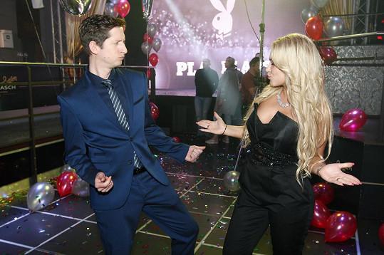 Jakub a Dominika se vrhli do tance.