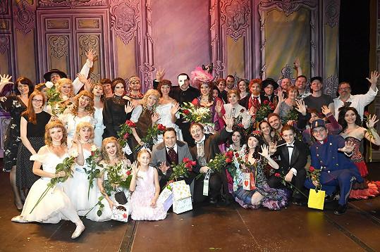 Divadlo GoJa Music Hall se loučilo s Fantomem opery, jehož právě Čarodějka vystřídá.